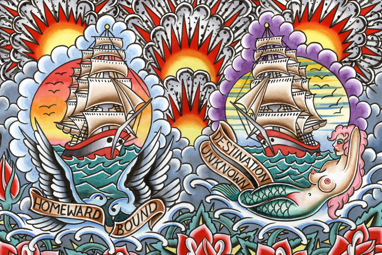 Guernsey\'s - Tattoo Art - The Peter Mui Collection